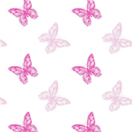 BUTTERFLY FILM TWO TONE PINK 41-00228